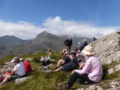 Lunchtime break in Snowdonia Jun 2014